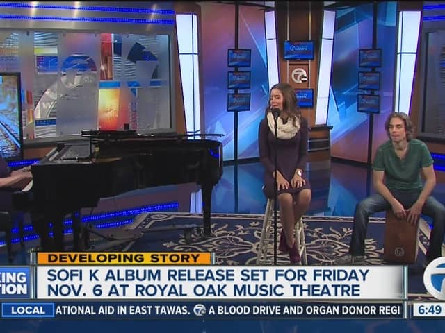 SOFI K PERFORMING ON CHANNEL 7