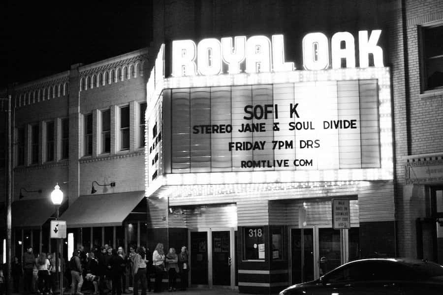 Album Release at the Royal Oak Music Theatre